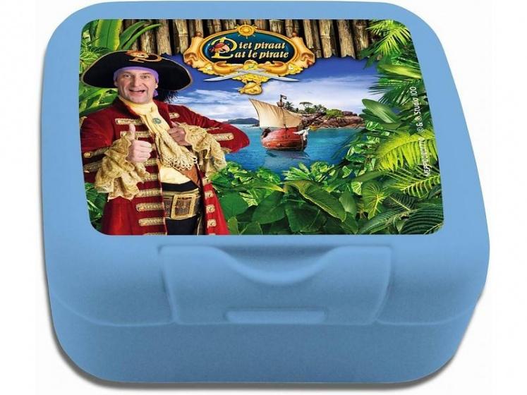Studio 100 koekendoosje Piet Piraat 400 ml blauw