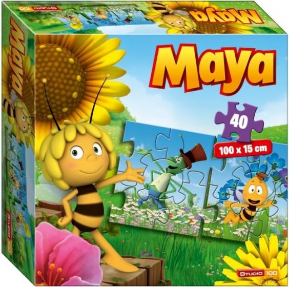 Studio 100 legpuzzel Maya de Bij Puzzeltrein 40 stukjes