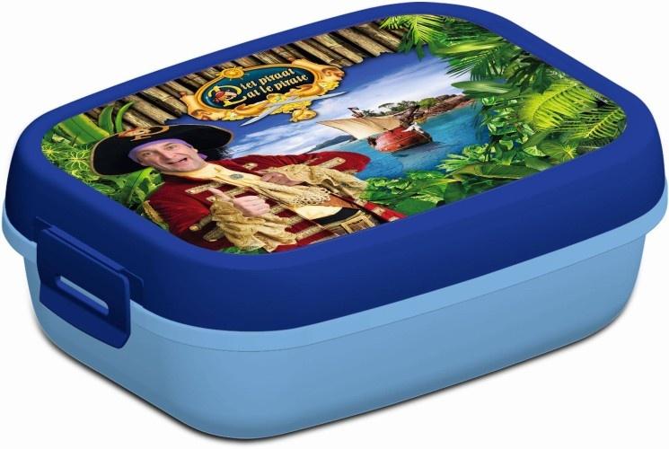 Studio 100 Lunchbox Piet Piraat Blauw