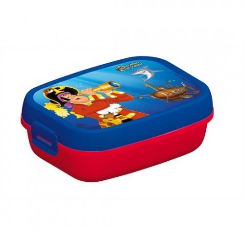 Studio 100 Lunchbox Piet Piraat Blauw/Rood