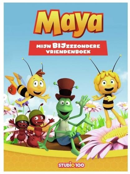 Studio 100 Maya de bij vriendenboek