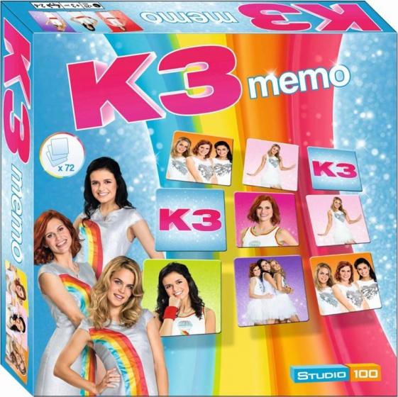 K3 Memo spel