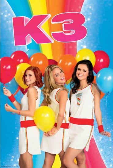 Studio 100 Poster K3 ballonnen