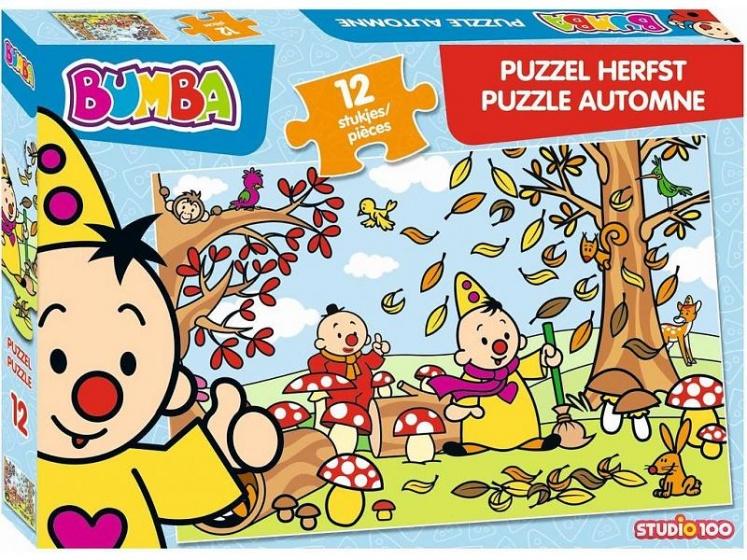Studio 100 puzzel Bumba Herfst 12 stukjes