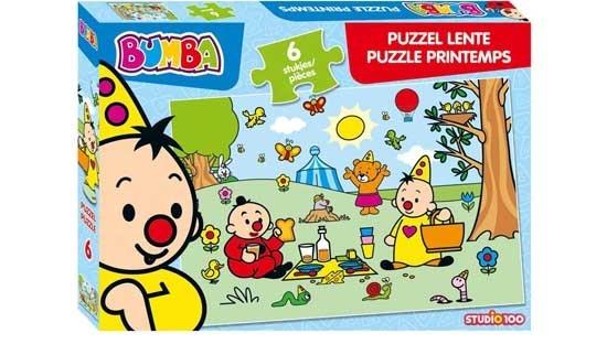 Studio 100 puzzel Bumba Lente 6 stukjes