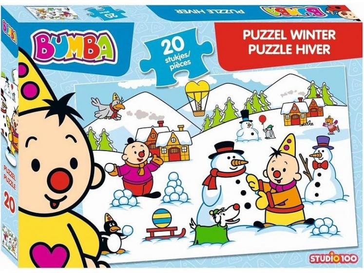 Studio 100 puzzel Bumba Winter 20 stukjes