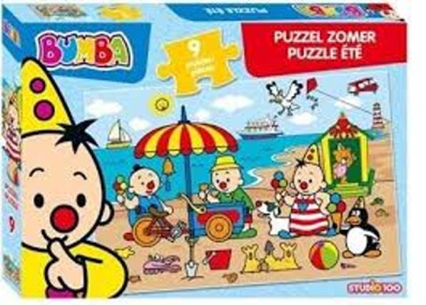 Studio 100 puzzel Bumba Zomer 9 stukjes