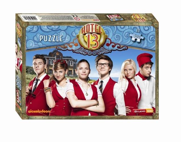 Studio 100 Puzzel Hotel 13 500 Stukjes