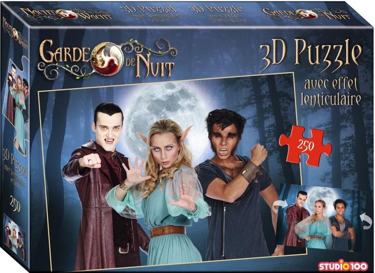 Studio 100 puzzel Nachtwacht met 3D effect 250 stukjes