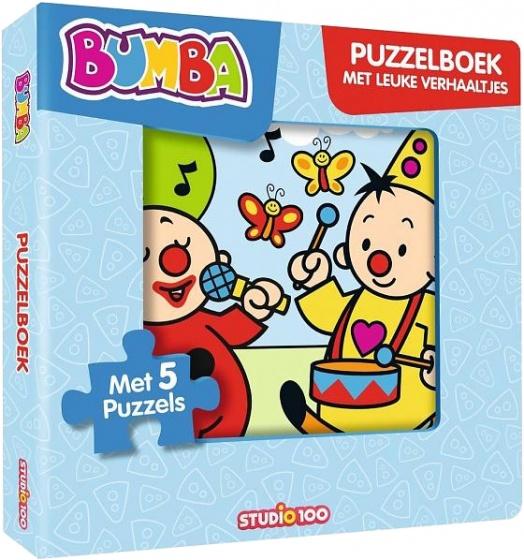 Studio 100 puzzelboek Bumba met leuke verhaaltjes