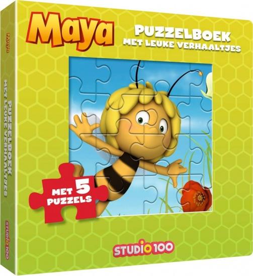 Studio 100 puzzelboek Maya