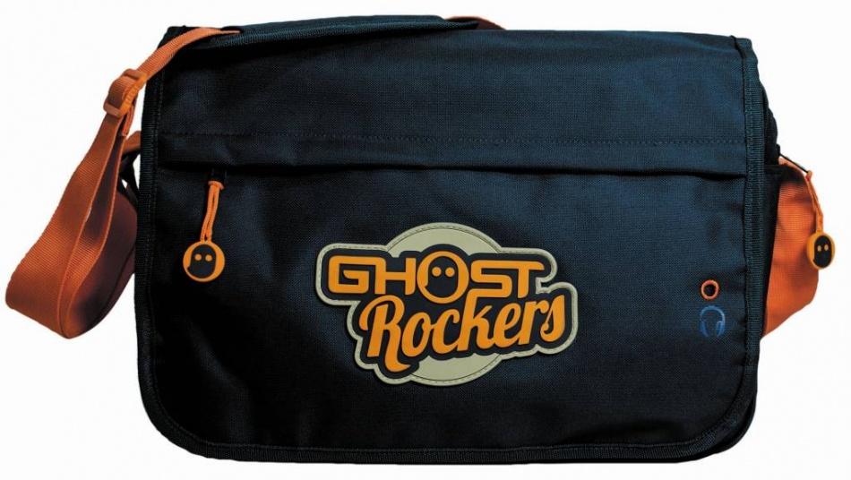Studio 100 schoudertas Ghost Rockers blauw 38 x 26 x 10 cm