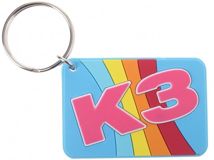Studio 100 sleutelhanger K3 meisjes blauw