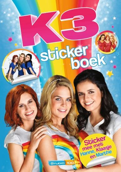 Studio 100 Stickerboek K3: de nieuwe K3