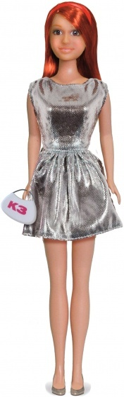 Studio 100 tienerpop K3 outfit 3 delig zilver