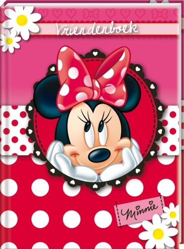 Studio 100 Vriendenboek Minnie Mouse