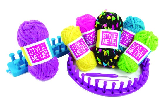 Style Me Up Rainbow Knitting Breien