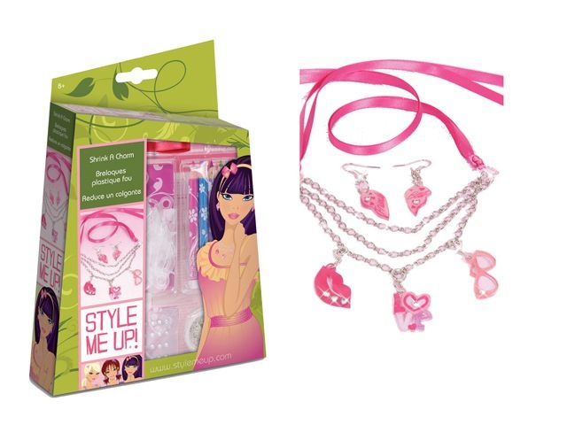 Style Me Up! Shrink a Charm
