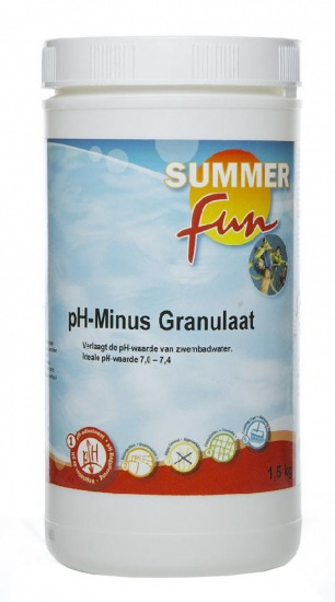 Summer fun pH Minus Granulaat 1,5 kg