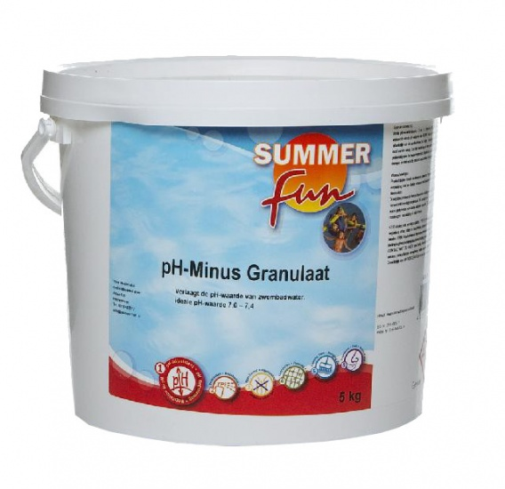 Summer fun pH Minus Granulaat 5 kg