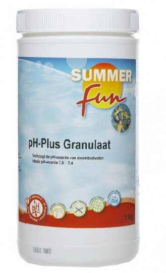 Summer fun pH Plus Granulaat 1 kg