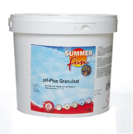 Summer fun pH Plus Granulaat 5 kg