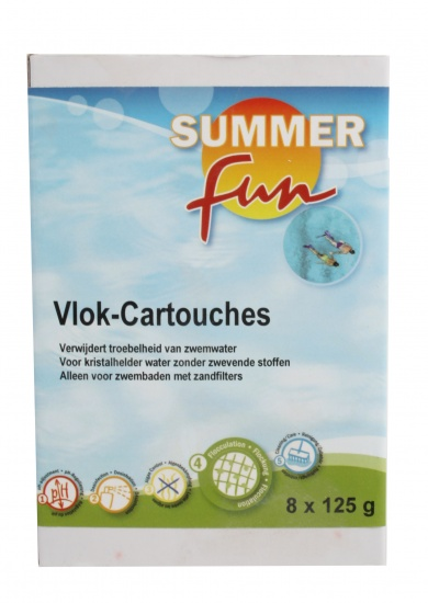 Summer fun Vlok Cartouche(cartridges) 1 kg 8 x 125 gram