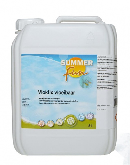 Summer fun Vlokfix vloeibaar 5 liter