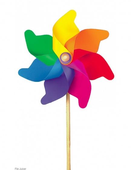 Summerplay Regenboogwindmolen H76X Daimeter 32 cm