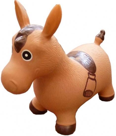Summertime skippy paard bruin 60 x 50 x 28 cm