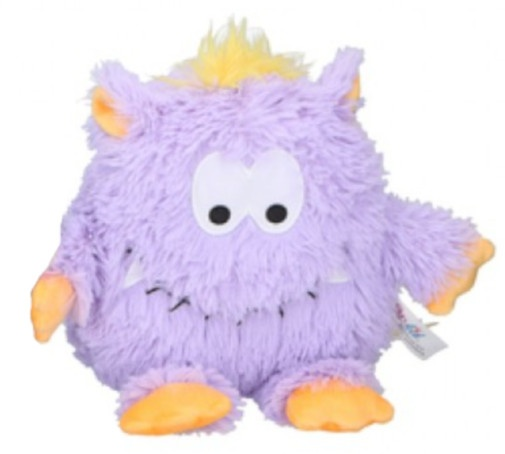 cuddly toy Monsterjunior plush 21 cm purple