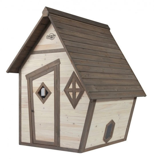 Sunny houten speelhuis Cabin junior 94 x 102 x 59 cm blank