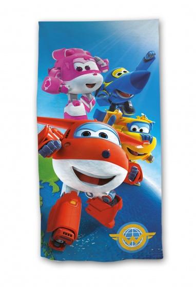 Nickelodeon badlaken Super Wings 70 x 140 cm