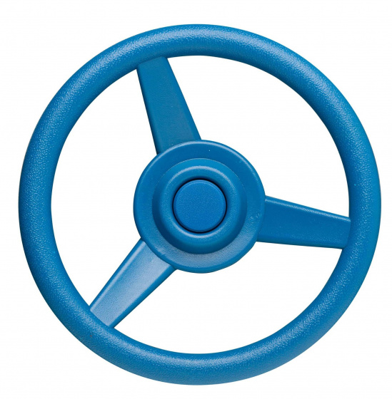 Swing King stuurwiel voor speelhuisje 30 cm blauw