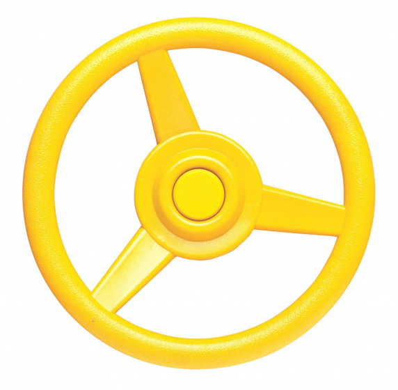 Swing King stuurwiel voor speelhuisje 30 cm geel