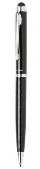 touchscreen pen Deluxe 16,8 cm steel black