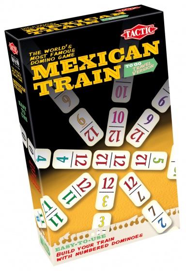 Tactic Mexican Train Reisversie Reisspel