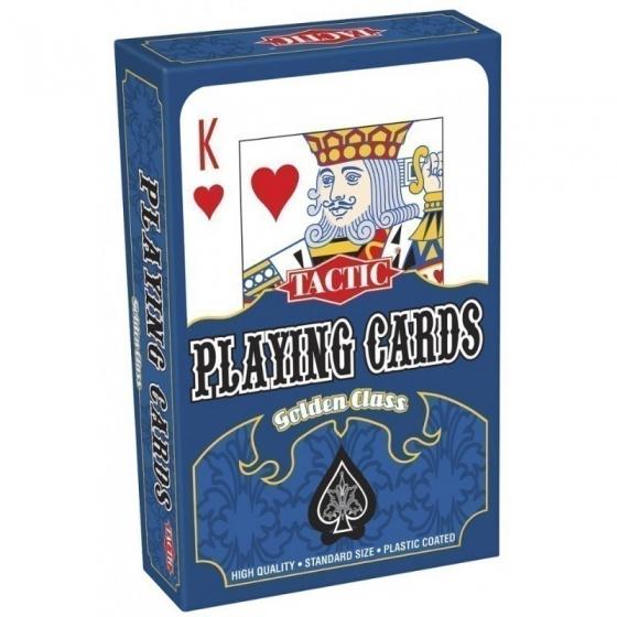 Tactic Golden Class Speelkaarten 55 delig wit