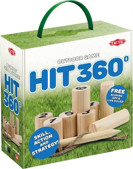 Tactic houten werpspel Hit 360