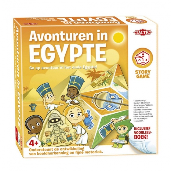 Tactic Story Game Expeditie in Egypte