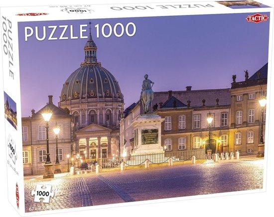 Tactic legpuzzel Amalienborg 67 x 48 cm karton 1000 stukjes