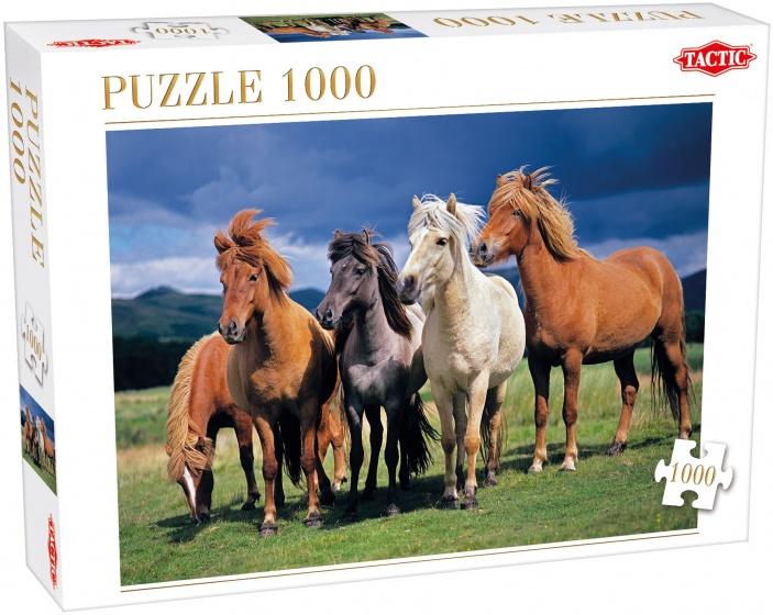 Tactic legpuzzel Camargue Horses 1000 stukjes