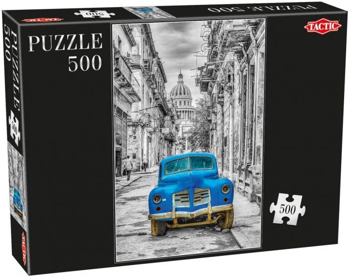 Tactic legpuzzel Cars 500 stukjes