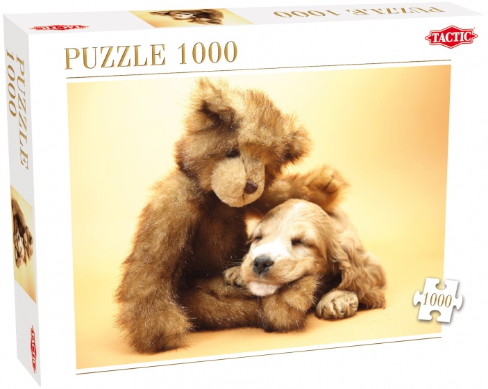 Tactic legpuzzel Puppy en Teddy Beer