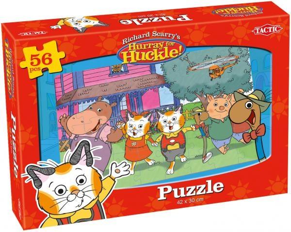 Tactic legpuzzel Richard Scarry's Puzzel Garden 56 delig