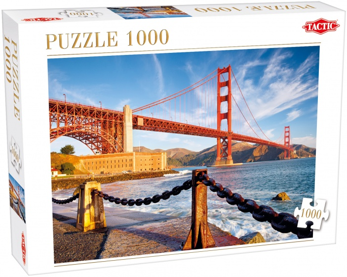 Tactic legpuzzel San Francisco Bay 1000 stukjes