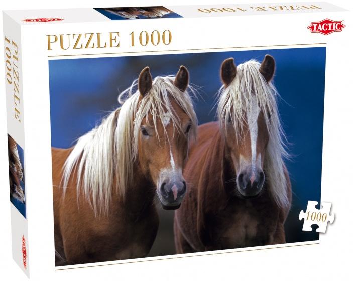Tactic legpuzzel Twee Paarden