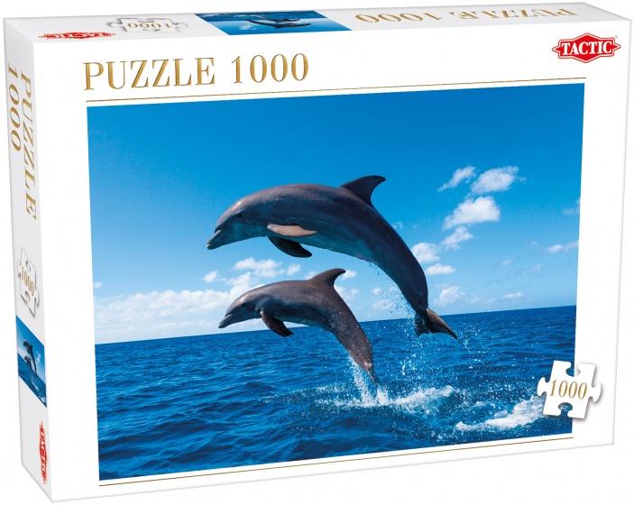 Tactic legpuzzel Two Dolphins Jump 1000 stukjes