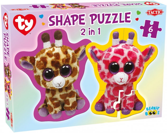 Tactic legpuzzel Ty Beanie Boos Shape 2 in 1