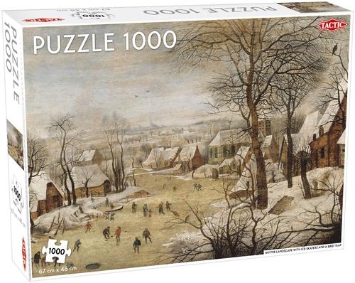 Tactic legpuzzel Winterlandschap 1000 stukjes